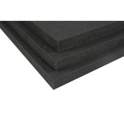 Top-Phon® Polyesterfasermatten ( deep black )  - 100% PET (teils aus recycelten Wasserflaschen)