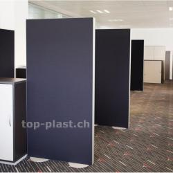 Akustik-Trennwand Top-Phon® Raumteiler inkl. 2 Stellfüssen